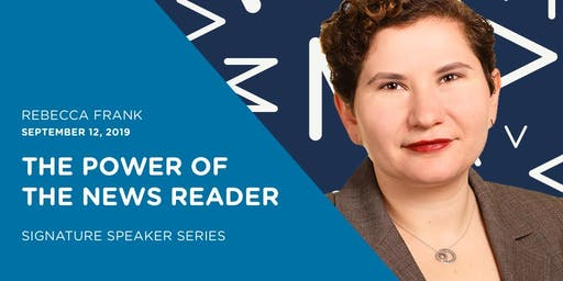 September Signature Speaker Series - The Power of the News Reader - AMA Richmond
