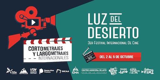 3er Festival Internacional de Cine Luz del Desierto