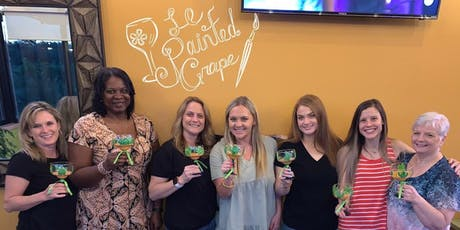 Margarita Glass Painting class at Papa Lopez Mexican Cantina, Frisco, TX Tuesday, 9/3 @ 7 pm tickets
