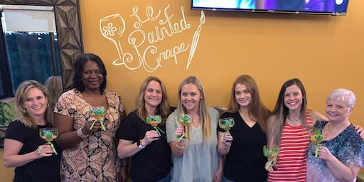 Margarita Glass Painting class at Papa Lopez Mexican Cantina, Frisco, TX Tuesday, 9/3 @ 7 pm
