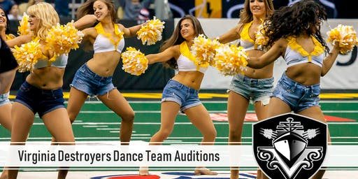 Virginia Destroyers Dance Team Audition