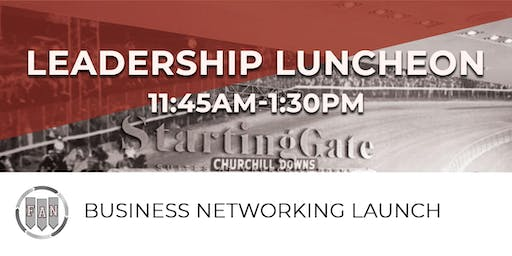 Former Athletes, Now! Business Networking Leadership Luncheon