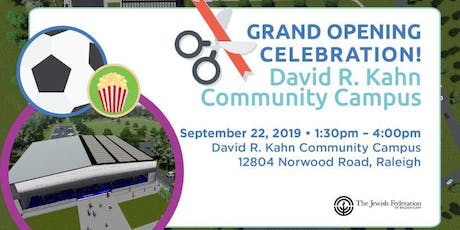 Grand Opening Celebration: David R. Kahn Community Campus tickets