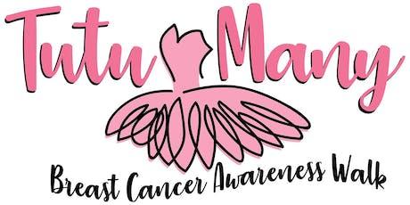 Tutu Many Breast Cancer Awareness Walk 2019 tickets