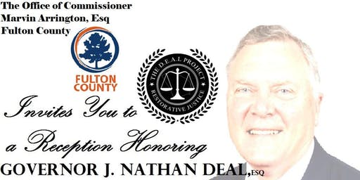 PRIVATE RECEPTION HONORING GOVERNOR NATHAN DEAL, Esq