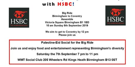 Big Ride Protest Birmingham To Coventry tickets