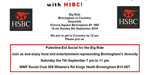 Big Ride Protest Birmingham To Coventry