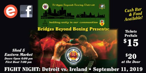 Fight Night: Detroit vs Ireland