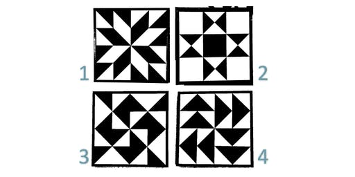 September 18th Barn Quilt Make & Take Pick your Own Pattern!