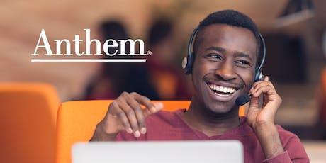 Anthem Customer Service Hiring Fair - Mason, OH tickets