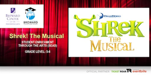 Dreamworks Shrek the Musical