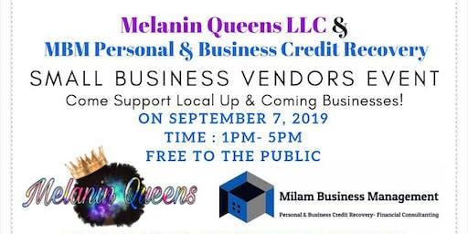 Melanin Queens LLC & MBM Personal & Credit Recovery Vendors Event