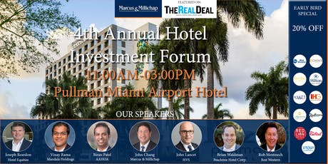 4th Annual Hotel Investment Forum - Presented by Kabani Hotel Group tickets