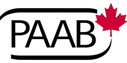 PAAB Training: Montreal, November 26, 2019