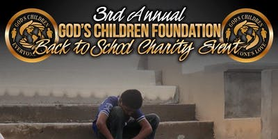 God's Children Foundation 3rd annual Back to School Charity Event