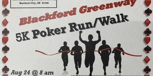 Blackford Greenway 5K Poker Run/Walk