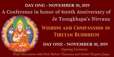 11/30/2019 - Wisdom and Compassion Conference tickets