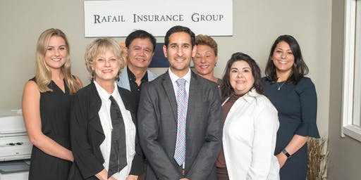 Ribbon Cutting at Rafail Insurance with Greater Heights Chamber of Commerce