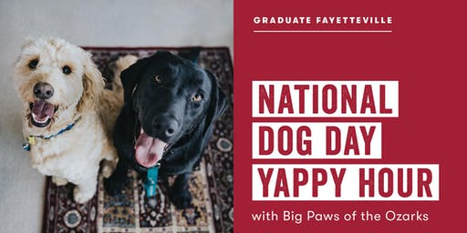National Dog Day Yappy Hour