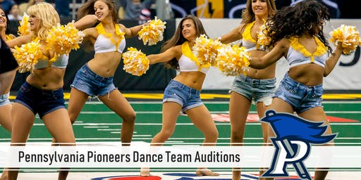 Pennsylvania Pioneers Dance Team Auditions