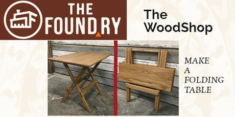 Build a Folding Table - Woodworking tickets