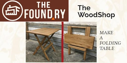Build a Folding Table - Woodworking