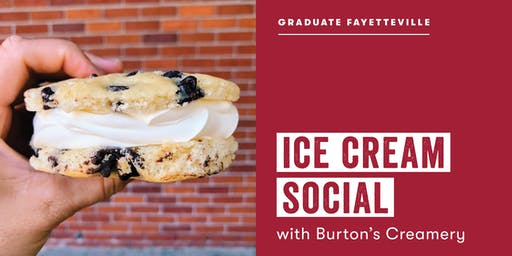 Ice Cream Social with Burton's Creamery