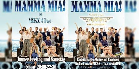 MAMMA MIA SHOW tickets