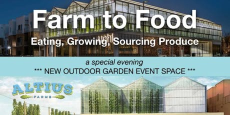 Altius Farms Greenhouse and Garden Space Tour tickets