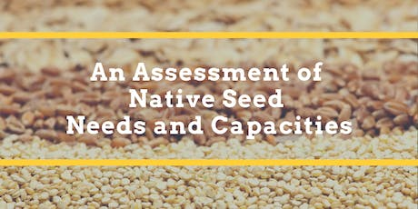 NASEM Native Seed Needs Meeting #1 tickets
