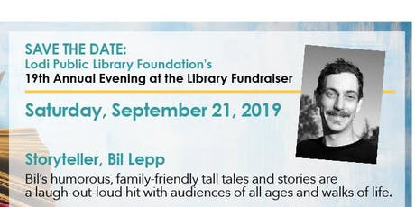 An Evening at the Library tickets