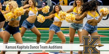 Kansas Kapitals Dance Team Auditions tickets