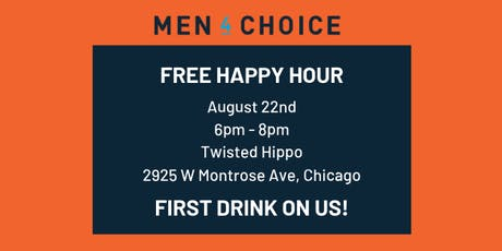 Men4Choice Free Social Happy Hour tickets