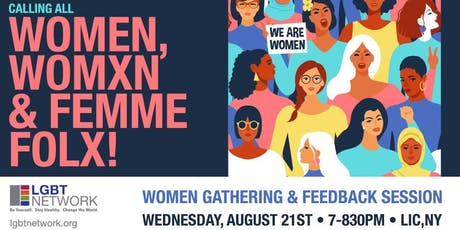 Womxn's Gathering & Feedback Session tickets