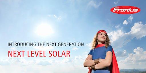 Fronius Next Level Solar: Product Launch Event