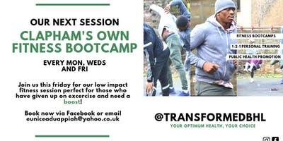 Clapham's Own Summer Fitness Bootcamp