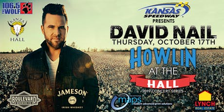 David Nail Live at Kanza Hall tickets