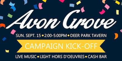 Avon Grove Campaign Kick Off