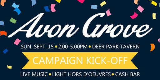 Avon Grove Campaign Kick Off