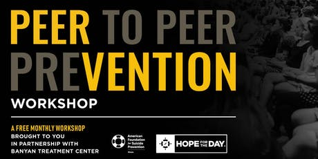 August PEERvention Workshop: Sponsored by AFSP tickets