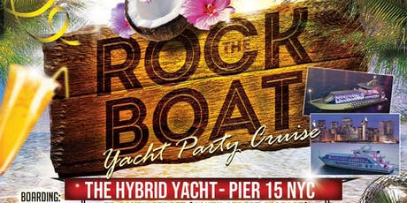 End of Summer Rock the Boat Party NYC tickets