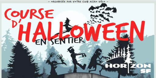 Course d'Halloween en sentier Horizon SF 2019
