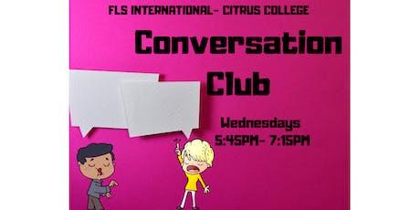 Copy of FLS INTERNATIONAL CONVERSATION CLUB! tickets
