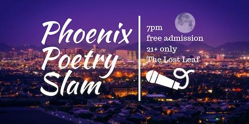 Phoenix Poetry Slam   The Lost Leaf