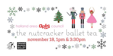 2019 Nutcracker Ballet Tea, 12:30 pm tickets