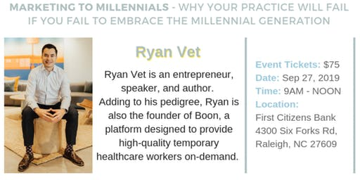 Chapter Member - Special event with our local expert, Ryan Vet!