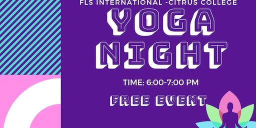 Copy of Copy of FLS INTERNATIONAL PRESENTS: YOGA NIGHT!