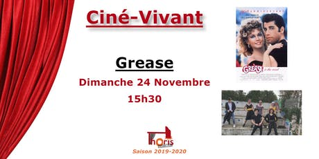 Ciné-Vivant /  Grease (VF) billets