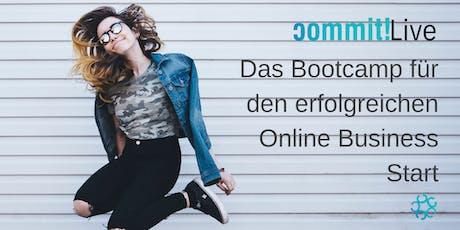 commit!Live: Das Online Business Starter Bootcamp Tickets
