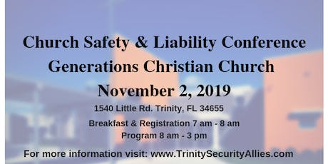 3rd Annual Church Safety & Liability Conference tickets